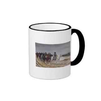 Napoleon  on Campaign in 1814, 1864 Ringer Mug