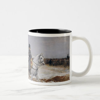 Napoleon  on Campaign in 1814, 1864 Two-Tone Coffee Mug
