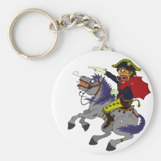 Napoleon on rampage key chains