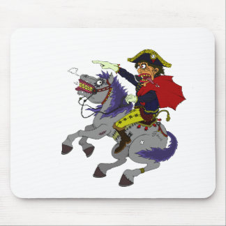 Napoleon on rampage mouse pad