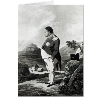 Napoleon on the island of St. Helena, 1820 Card