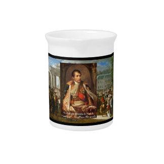 Napoleon política de la estupidez cita el hoyo d jarras para bebida