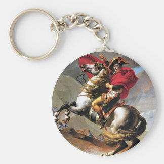 Napoleon que cruza el llavero de las montañas