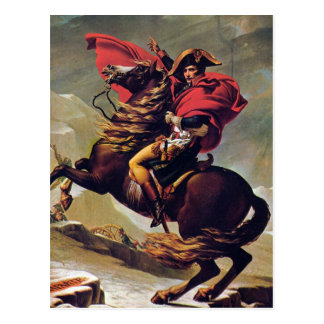 Napoleon que cruza el St Bernard Tarjeta Postal