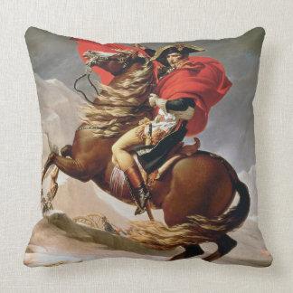 Napoleon que cruza las montañas, c.1800 (aceite en cojín