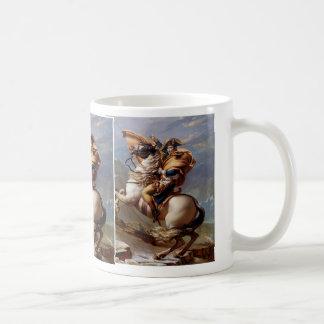 Napoleon que cruza las montañas de David Taza Básica Blanca