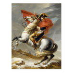 Napoleon que cruza las montañas de Jacques Louis Postal