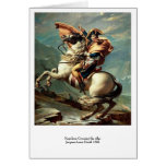 Napoleon que cruza las montañas felicitación