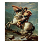 Napoleon que cruza las montañas impresiones