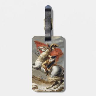 Napoleon que cruza las montañas - Jacques-Louis Da Etiqueta Para Equipaje