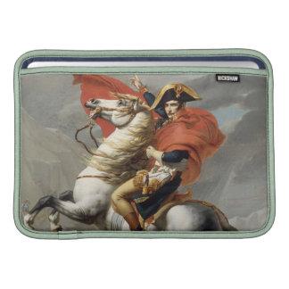 Napoleon que cruza las montañas - Jacques-Louis Da Fundas MacBook
