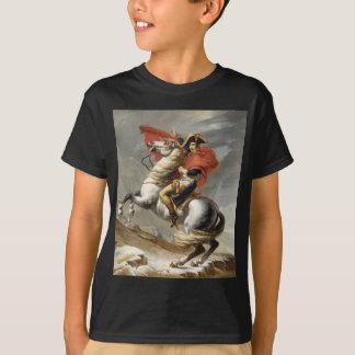 Napoleon que cruza las montañas - Jacques-Louis Playera