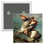 Napoleon que cruza las montañas pins