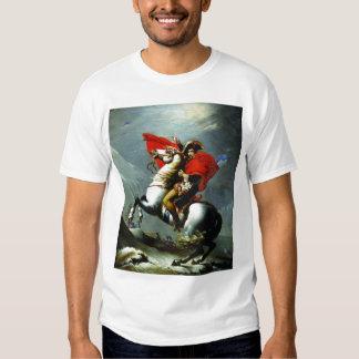 Napoleon que cruza las montañas poleras