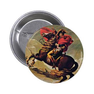 Napoleon que cruza las montañas, por David Jacques Pins