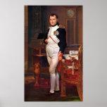 Napoleon que presenta en su estudio poster
