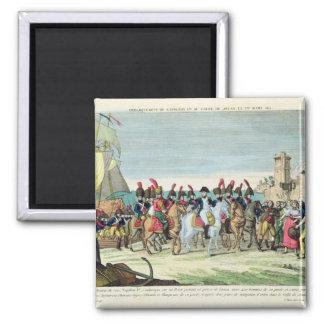 Napoleon que se va para el golf Juan, el 1 de marz Imán Cuadrado