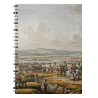 Napoleon que visita el cerco trabaja en Danzig lle Libros De Apuntes Con Espiral