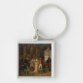 Napoleon receiving the senators keychain