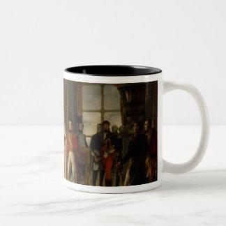 Napoleon receiving the senators coffee mug