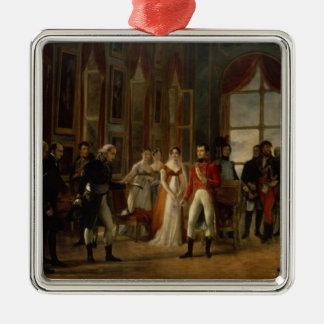 Napoleon receiving the senators christmas ornaments