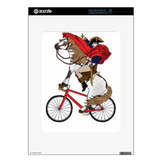 Napoleon Riding Horse Who's Riding A Bike Decal For iPad