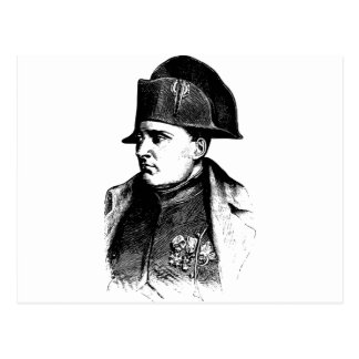Napoleon Silhouette Postcard