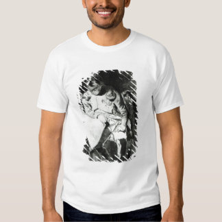 Napoleon studying his maps by lamplight, c.1800 t-shirt