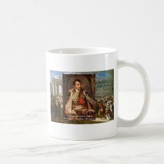 "Napoleon ""Stupidity Politics"" Quote Gifts Tees Etc Coffee Mug"