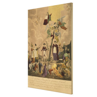 Napoleon, the First Consul Canvas Print