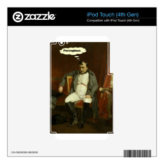 Napoleon Thinks About Porcupines Skins For iPod Touch 4G