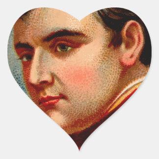 Napoleon Vintage Heart Sticker