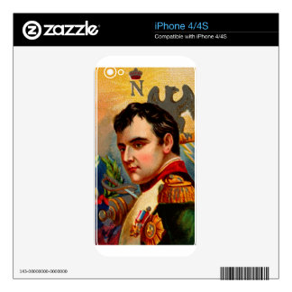 Napoleon Vintage Skin For iPhone 4
