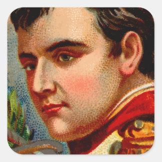 Napoleon Vintage Square Sticker