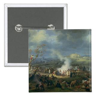 Napoleon  Visiting a Bivouac Pinback Button