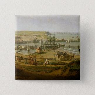 Napoleon Visiting the Camp at Boulogne Pinback Button