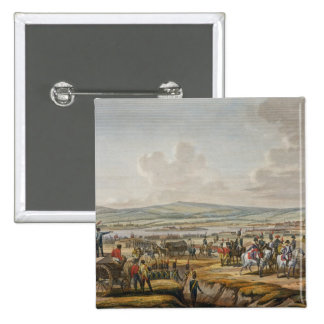 Napoleon Visiting the Siege Works at Danzig led by 2 Inch Square Button