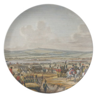 Napoleon Visiting the Siege Works at Danzig led by Dinner Plate