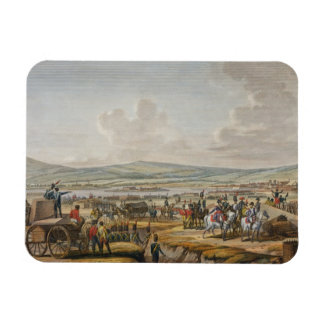 Napoleon Visiting the Siege Works at Danzig led by Rectangular Photo Magnet