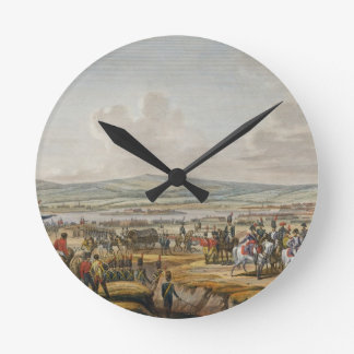 Napoleon Visiting the Siege Works at Danzig led by Round Clock