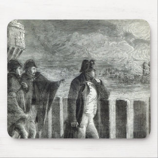 Napoleon watching the Fire of Moscow in 1812 Mouse Pad