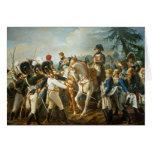 Napoleon y el Bavarian y el Wurttemberg Tarjetas