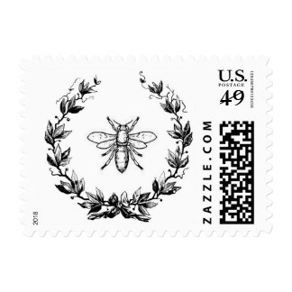 Napoleonic Bee in Laurel wreath Postage