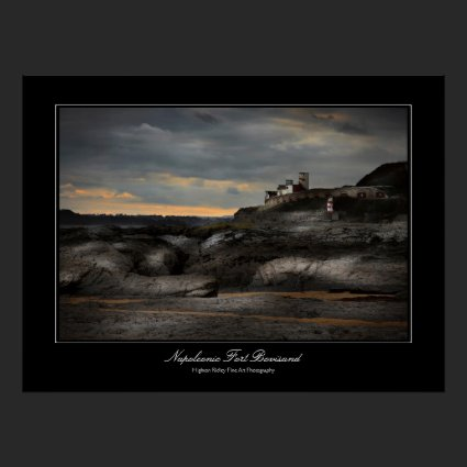 Napoleonic Fort Bovisand gallery-style print