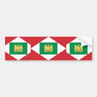 Napoleonic Kingdom Of Italy, Italy flag Car Bumper Sticker