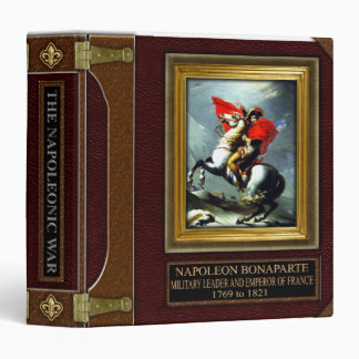 Napoleonic War Research Binder