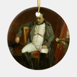 Napoleon's Bad Day Ceramic Ornament
