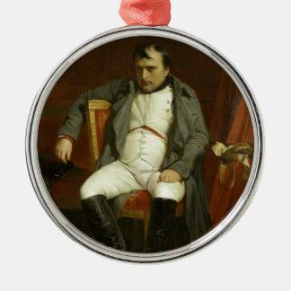Napoleon's Bad Day Metal Ornament