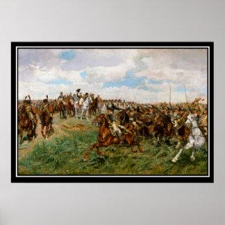 Napoleon's Battle of Friedland 1807 Poster