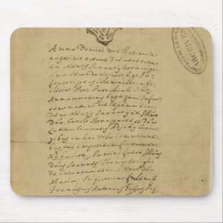 Napoleon's Birth Certificate, 1769 Mouse Pad